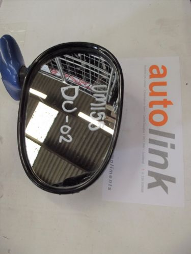 Door Mirror, Mazda MX-5 mk1, r/h, blue, DU, right hand, USED 02